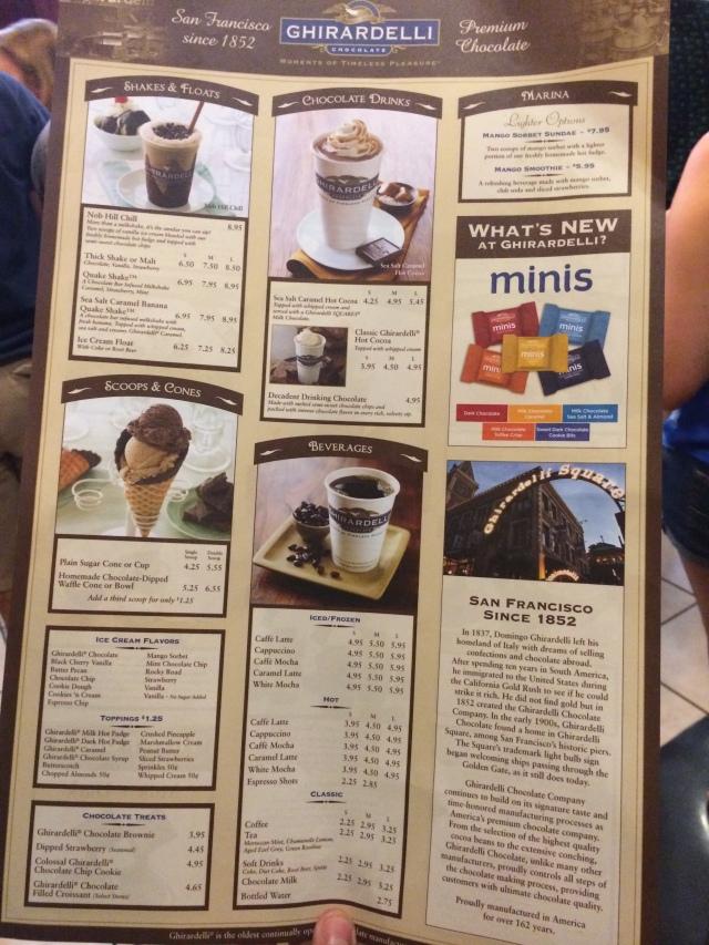 Da uma olhadinha nesse menu rs, da vontade de pedir tudo rs